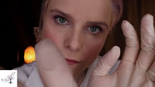 [ASMR] Annual Physical Exam Results & A Relaxing Face Exam - Acne Assessment ~ Gloves & Typing