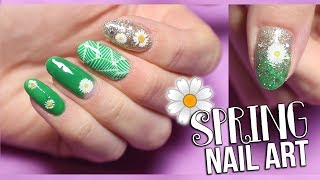🌼 Spring Nail Art - Madam Glam Gel Polish Manicure