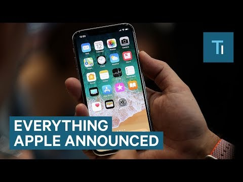 All the new products Apple announced today — including the 'iPhone X'