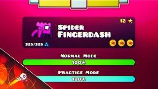 SPIDER FINGERDASH! - GEOMETRY DASH 2.1