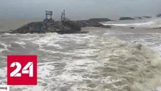 Над Таиландом бушует сильнейший за полвека тайфун - Россия 24
