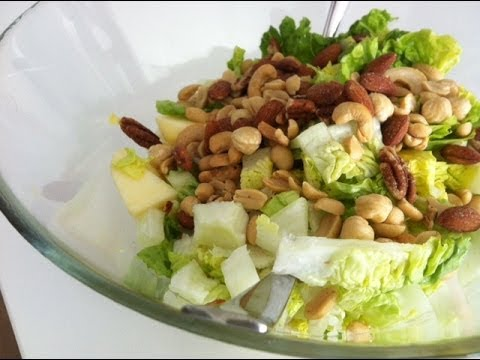 Ensalada de frutos secos