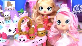 Видео для Детей #Кукла Tiara Sparkles НАРЯЖАЕТ НЕВЕСТУ! Шопкинс на Русском