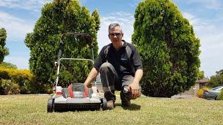 Ep01 - (Masport) AL-KO SF-4036 Scarifier - 42V Cordless Grass Verticutter Review