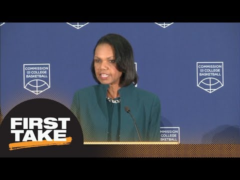 First Take reacts to Commission on College Basketball calling for NCAA reform | First Take | ESPN