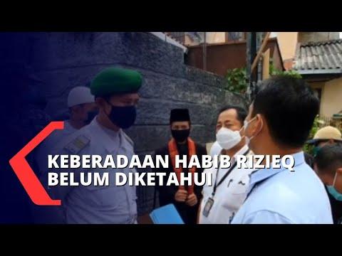 kediaman rizieq dijaga ketat fpi polisi belum berhasil berikan surat panggilan kedua