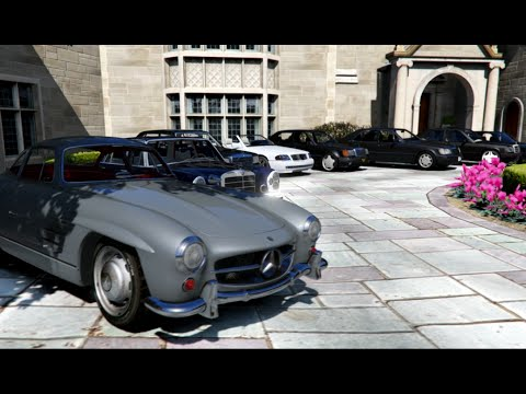GTA V | MERCEDES & BMW CLASSIC CARS COLLECTION IN GTA 5