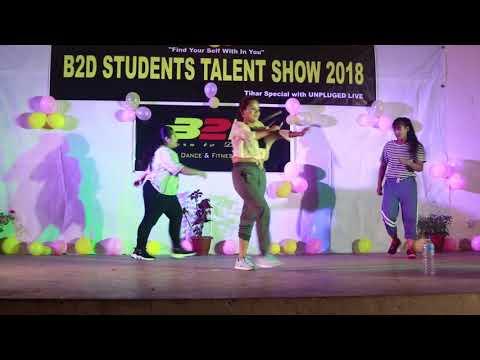 Tareefan & Dilbar   Dance Performance   Students Talent Show   Choreography By aashish Grg