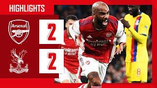 Arsenal 2-2 Crystal Palace Pekan 8