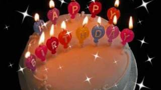 Happy Birthday Video E-Cards, Happy Birthday Mariah Carey with a cake for you