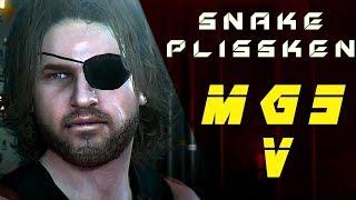 MGSV - Play as Snake Plissken - Cinematic Stealth Gameplay