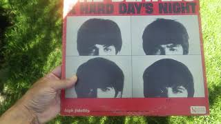 THE BEATLES – HARD DAY'S NIGHT ORIGINAL MOTION PICTURE SOUNDTRACK