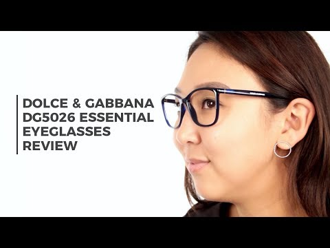 Dolce & Gabbana DG5026 Essential Eyeglasses Review | SmartBuyGlasses