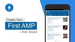 Creating your first AMP Page for beginners in hindi