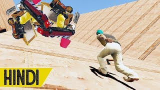 YOU CAN'T *SURVIVE* THIS VEHICLE AVALANCHE! | GTA 5 ONLINE