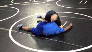 Wrestling Tutorial - Half-Moon Cradle Finish