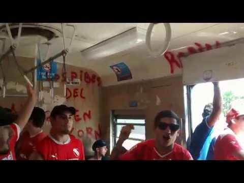 """""""Soy del Barrio de Avellaneda (tema nuevo)"""" Barra: La Barra del Rojo • Club: Independiente"""