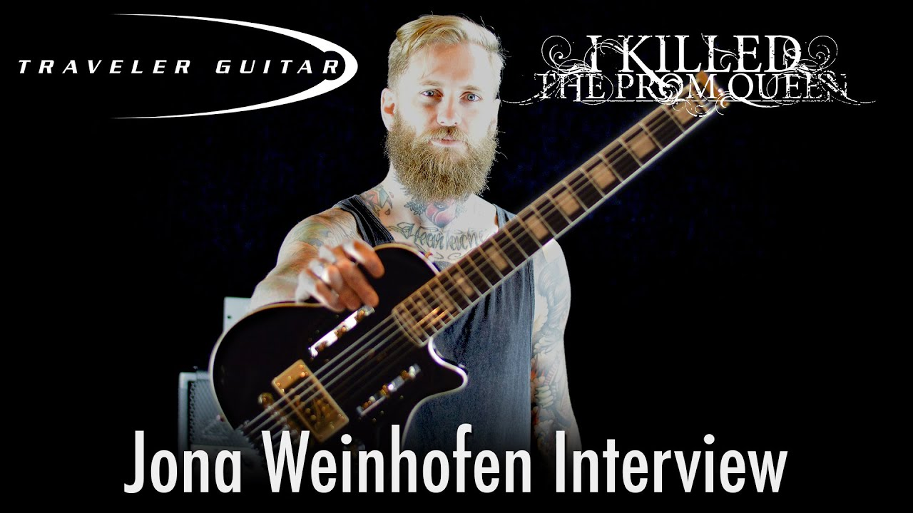 Jona Weinhofen Traveler Guitar Interview: Part 1