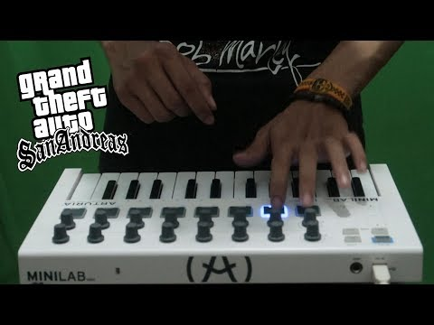 GTA San Andreas Theme Song (Cover)   Instrumental