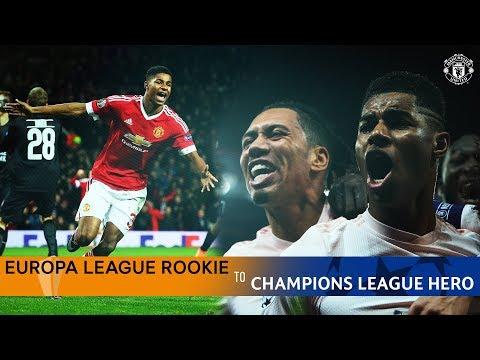 Marcus Rashford | Europa League Rookie to Champions League Hero | Every European Goal