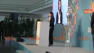 Raggi: 'Orgogliosa di ospitare a Roma Euro 2020'