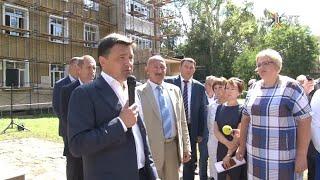Губернатор Московской области с рабочим визитом посетил Воскресенский район