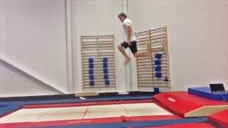 Trampoline Gymnastics Tutorial: How To Do A Flip