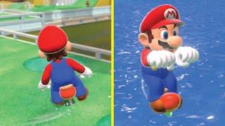 Funny Mario SKATES mod - Super Mario 3D World experiments [Super Mario 3D World + Bowser's Fury mod]