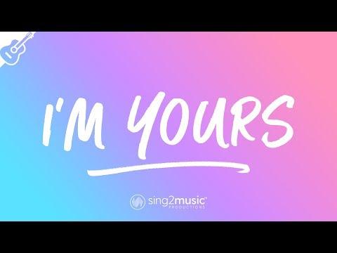 I'm Yours (Acoustic Guitar Karaoke) Jason Mraz