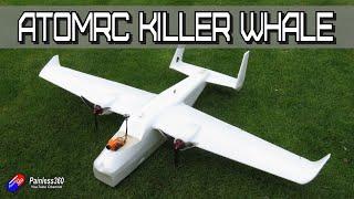 FIRST LOOK: AtomRC/Eachine Killer Whale Twin Prop FPV/Camera 'plane