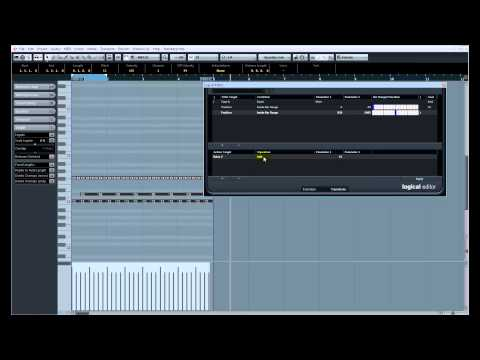 Nick Sibicky's Music Production Secrets #27 – Cubase 7 Logical Editor