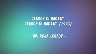 Lyrics – Yaadon Ki Baraat (1973) - YouTube