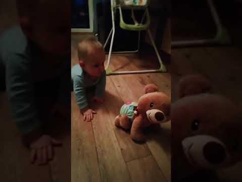 Video v článku Lezoucí medvídek Vtech pro mrňousky i větší děti. Interaktivní vzdělávací hračka