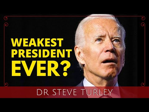 Biden Begins with Humiliating Approval Rating as the Weakest President Ever! - Dr. Steve Turley Must Video