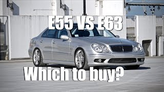 E55 VS. E63 AMG | Which one to buy? (4K)