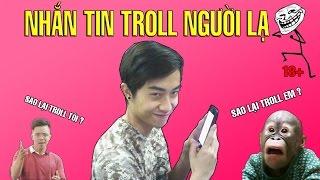 CrisDevilGamer NHẮN TIN TROLL NGƯỜI LẠ (18+) | Thánh Troll CrisDevilGamer