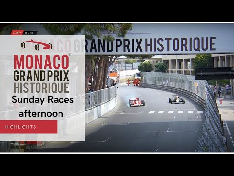 Highlights Sunday Races (Afternoon) - Grand Prix Monaco Historique 2021