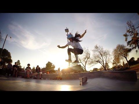 GoPro: Evelyn Abad - Skater Girl March 2014 HD