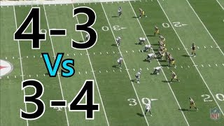 What's better? 4-3 or 3-4 Defense | Hook Cam