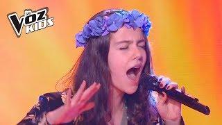 Mariana Canta Maldita Primavera - Audiciones A Ciegas | La Voz Kids Colombia 2018
