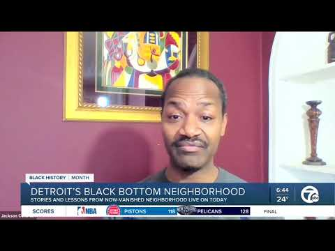 Former Black Bottom resident, historians talk legacy of 'Detroit's forgotten neighborhood'