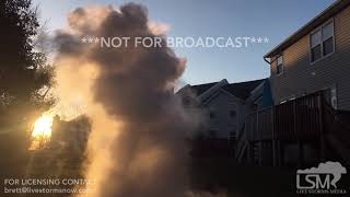 01-21-19 Chalfont PA Boiling Water Reacts in Single Digit Temperatures