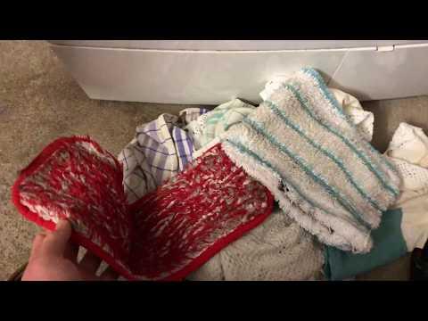 Wischbezug waschen in Waschmaschine Koch Waschgang (90 Grad) Wischer Bezug Kochwäsche Anleitung