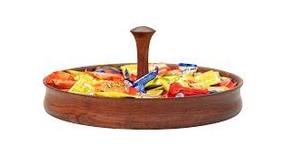 """Woodturning a 15"""" Candy Dish - Laguna Revo 1216"""