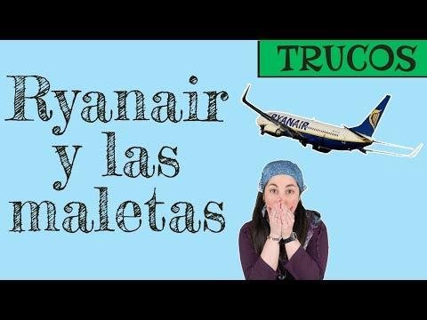 [NO ACTUALIZADO] Llevar maletas de mano con Ryanair y su política de equipaje. ✈️