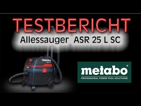 Testbericht metabo Allessauger ASR 25 L SC