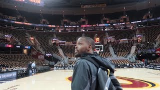 ON THE COURT FOR GAME 3 OF THE NBA FINALS! | Daily Dose S2Ep266