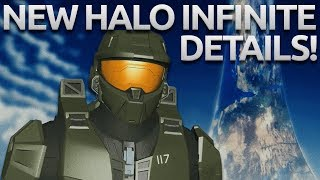 NEW HALO INFINITE DETAILS - STORY, MASTER CHIEF