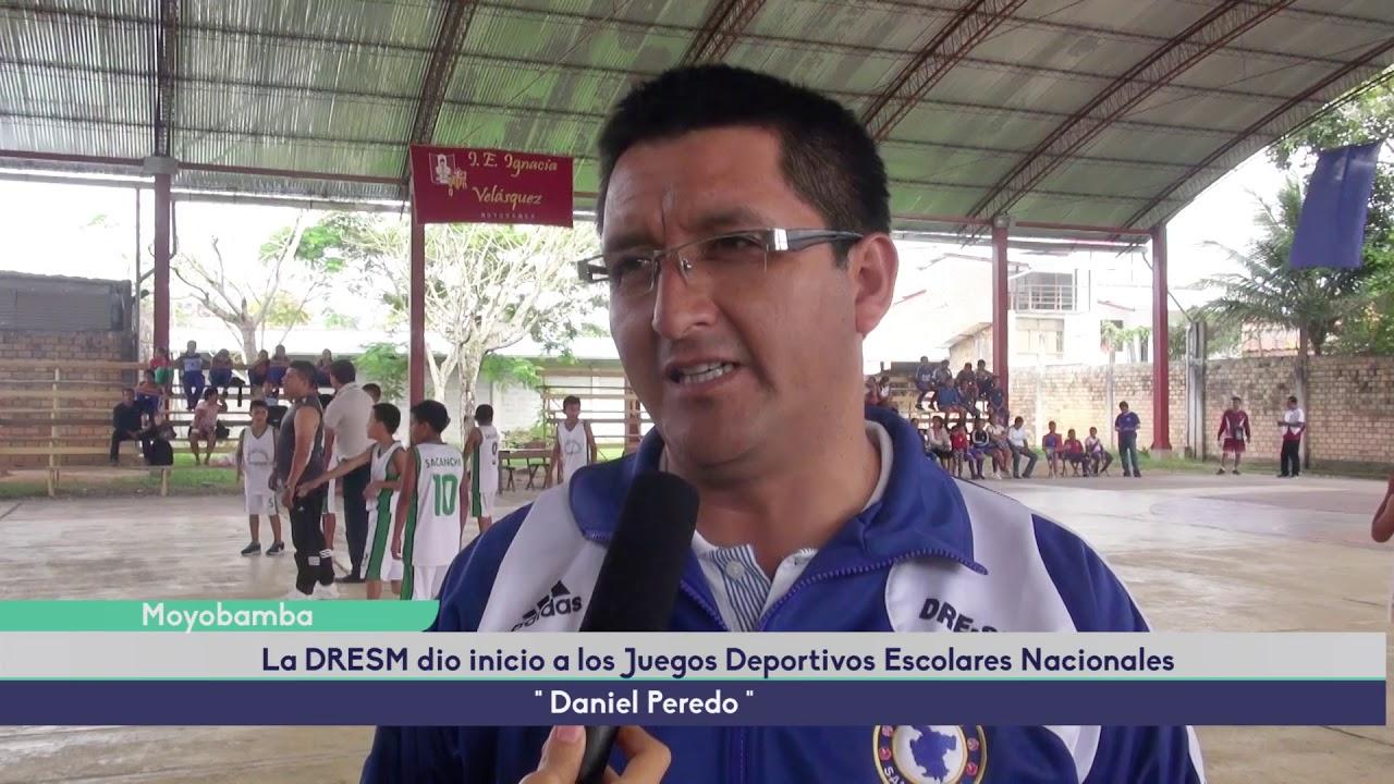 JUEGOS DEPORTIVOS ESCOLARES DANIEL PEREDO