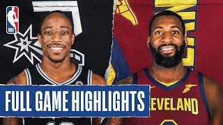 SPURS at CAVALIERS | FULL GAME HIGHLIGHTS | March 8, 2020